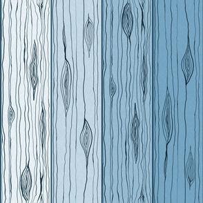 Wooden Slats (Glacier)