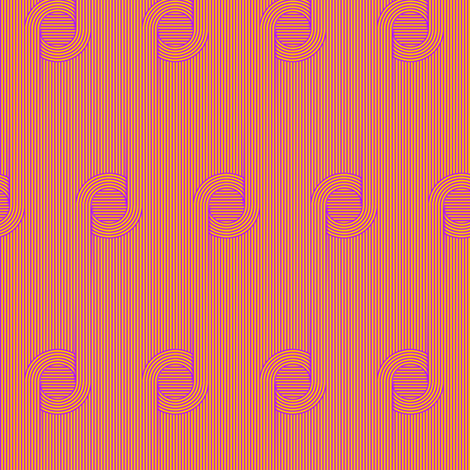 Illusions_Pattern-Purple-Yellow fabric by stradling_designs on Spoonflower - custom fabric