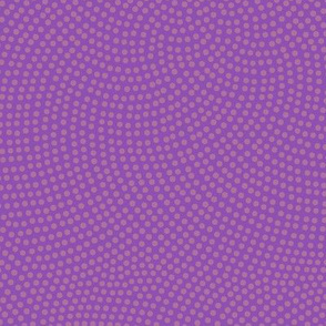 Fibonacci-flower polkadots - jazz purple