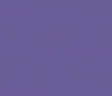 Fibonacci-flower polkadots - jazz navy and purple fabric by weavingmajor on Spoonflower - custom fabric