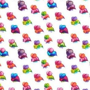 Fuzzy Little Bumblebees