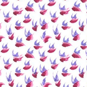 Pink & Purple Abstract Butterflies