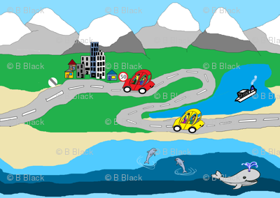 Road Map to My Backyard