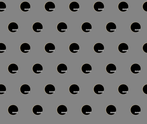 Total Eclipse fabric by karencunagin on Spoonflower - custom fabric