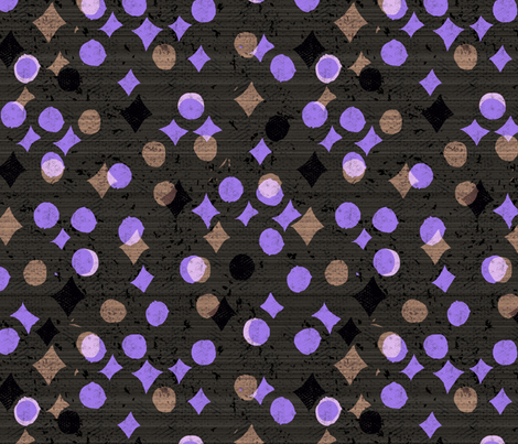 many moons fabric by ottomanbrim on Spoonflower - custom fabric