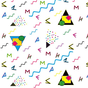 Memphis_Style_Alphabet
