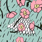 Posies, Mountain and Rain