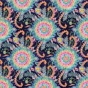 Color Celebration Mandala - tiny print