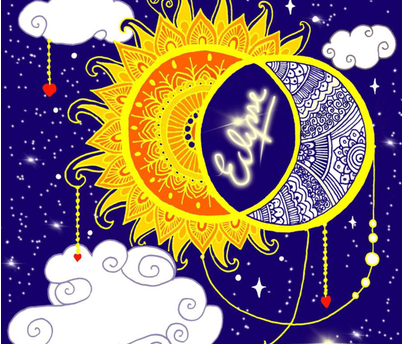 Eclipse fabric by kawthar_ on Spoonflower - custom fabric