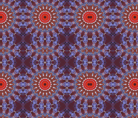 Boho Mandala fabric by ae_fresia on Spoonflower - custom fabric