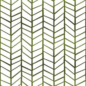 Feather Panel Forest Green