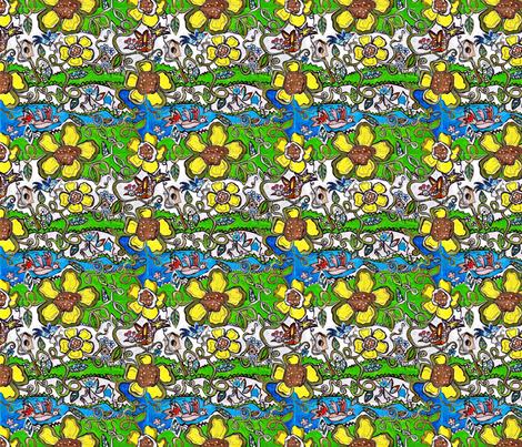 Uptown_Bohemian-ed fabric by vickiejofranks on Spoonflower - custom fabric