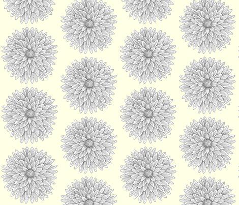 yellowflower1_1 fabric by kat_artist on Spoonflower - custom fabric