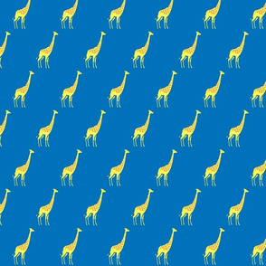 Giraffe_Blue