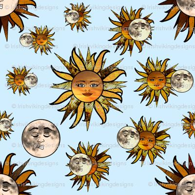 Solar Sunflower Eclipse