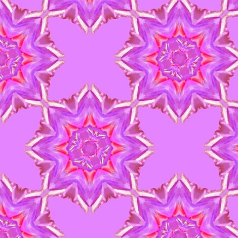 Painted_Flower_5 fabric by karwilbedesigns on Spoonflower - custom fabric