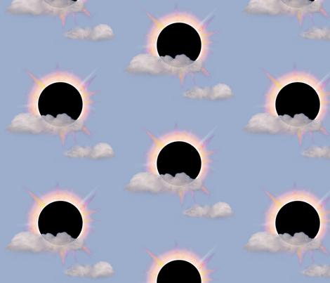 Sweet eclipse fabric by lucybaribeau on Spoonflower - custom fabric