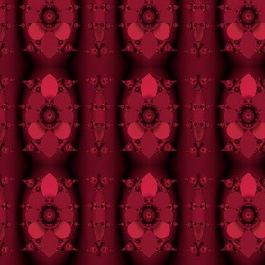 Red and Black Fractal Stripe