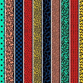 Memphis Stripes Combo