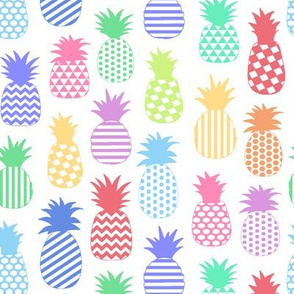 Pastel Pineapples // Small-size