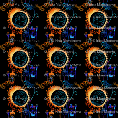 solar eclipse Small_shamans