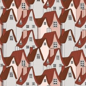 Miss Muffet's Cottages Pink