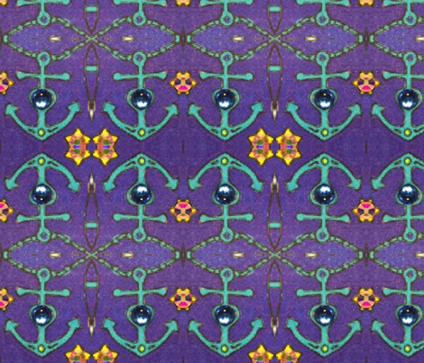 Anchors away fabric by kristinelee on Spoonflower - custom fabric