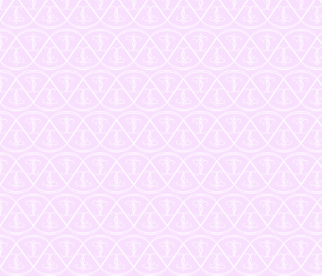white_on_pink_scallops fabric by gothiccolour on Spoonflower - custom fabric