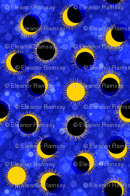Solar Eclipse Polka Dots