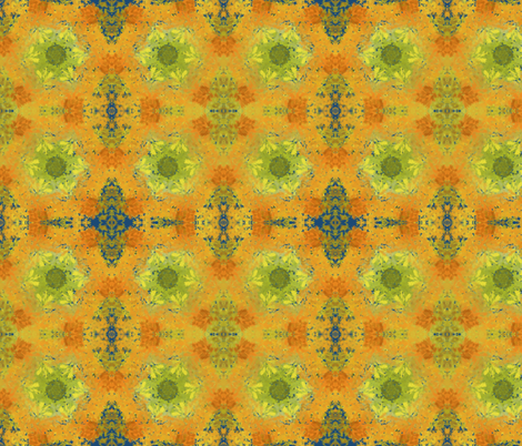 Leaf_Cycle fabric by persimmondeb on Spoonflower - custom fabric