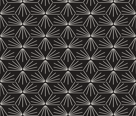 SUN_TILE_DARK fabric by holli_zollinger on Spoonflower - custom fabric