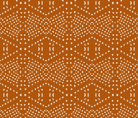 BOHO_TILE_SANDSTONE_DARK fabric by holli_zollinger on Spoonflower - custom fabric