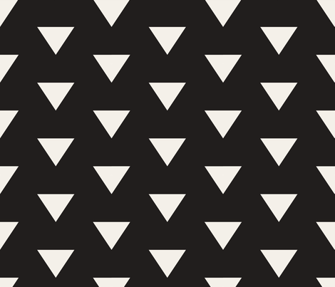 ARROW_TILE_ARROW_DARK fabric by holli_zollinger on Spoonflower - custom fabric