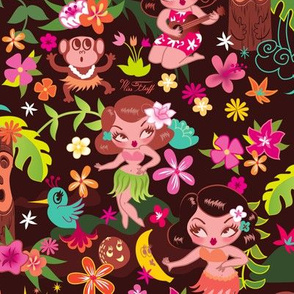 Hula Cuties MEDIUM