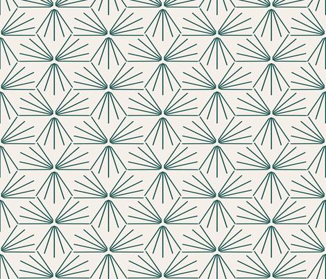 SUN_TILE_MARINE_LIGHT fabric by holli_zollinger on Spoonflower - custom fabric