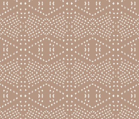 BOHO_TILE_BLUSH_DARK fabric by holli_zollinger on Spoonflower - custom fabric