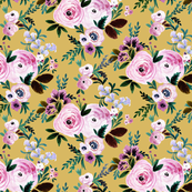 Victorian_Floral_mustard-small