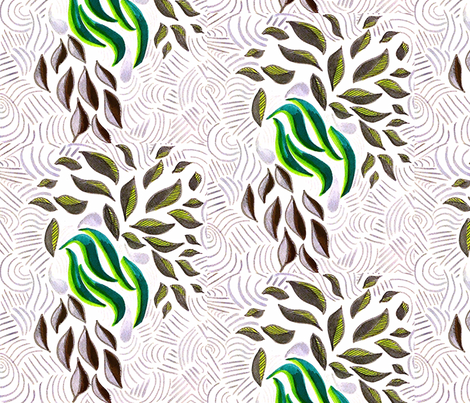 Palm Trees  fabric by arebecastillo on Spoonflower - custom fabric
