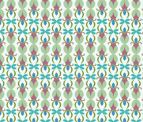 Modsquad Audrey Boss fabric by margiecampbellsamuels on Spoonflower - custom fabric