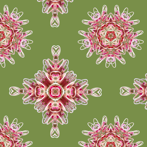 Grevillea_pattern1a fabric by karwilbedesigns on Spoonflower - custom fabric