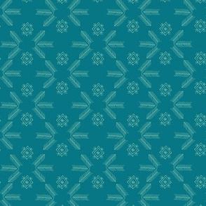 Sheba Grid (turquoise)