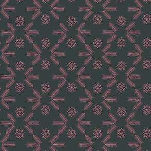Sheba grid (charcoal)