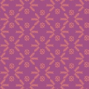 Sheba grid (fuchsia)