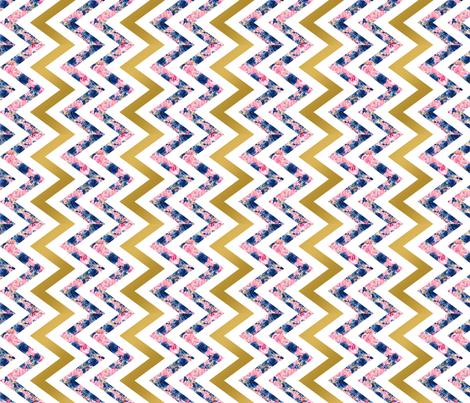 Chevron (90) fabric by mcaussieboutique on Spoonflower - custom fabric