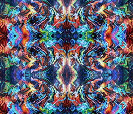 Mystical journey fabric by leedezign on Spoonflower - custom fabric