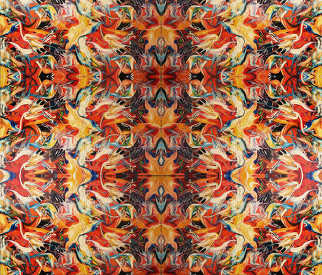 Birds nest fabric by leedezign on Spoonflower - custom fabric