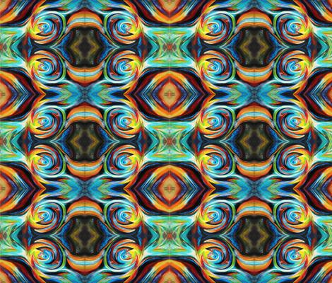 Eyes in the sky fabric by leedezign on Spoonflower - custom fabric