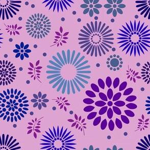 Retro Botanical // Lavender