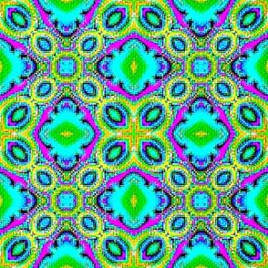 Fractal Tribal Cross-Stitch 2