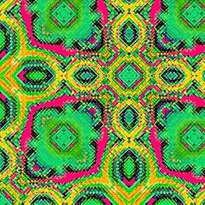 Fractal Tribal Cross-Stitch 3